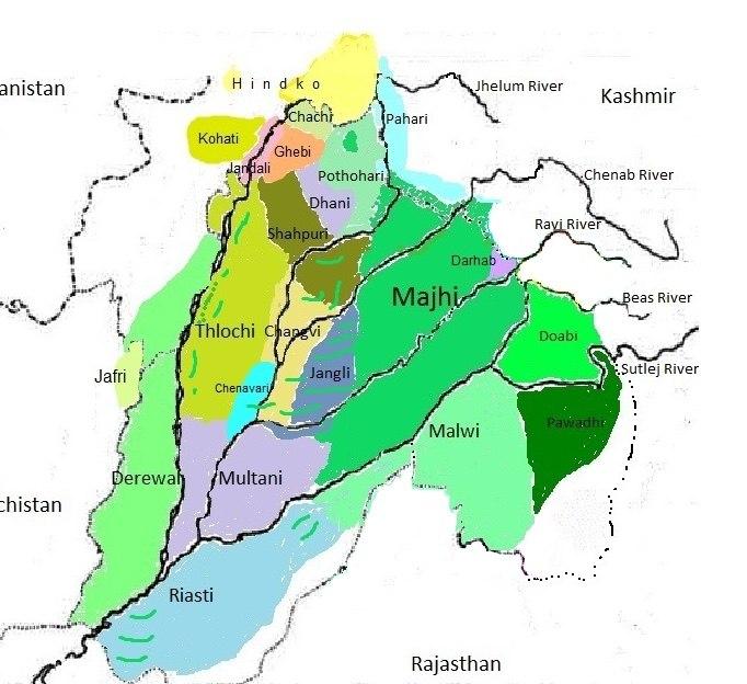 Dialects Of Punjabi