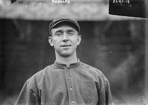 Dick Rudolph - Image: Dick Rudolph Boston Baseballer