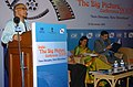 """Digambar Kamat addressing at the inauguration of the """"India – The Big Picture"""" Conference, organised by the CII, during the 39th International Film Festival (IFFI-2008) in Panaji, Goa on November 22, 2008.jpg"""