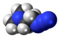 Dimethylaminoethylazide-3D-spacefill.png