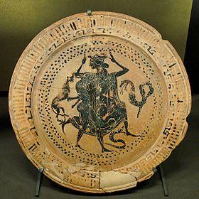 Dish Thetis Peleus Louvre CA2569