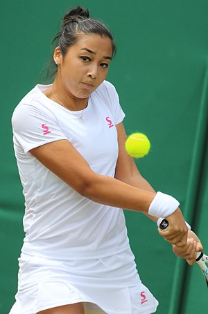 Zarina Diyas - Diyas at the 2017 Wimbledon Championships