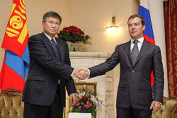 Dmitry Medvedev in Mongolia August 2009-6.jpg