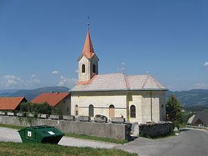 Dobovec, Trbovlje - St. Anne's Church in Dobovec