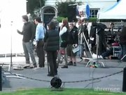 Файл:Doctor Who filming - Matt Smith with Karen Gillan.ogv