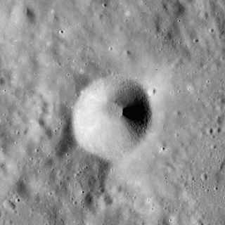 Dollond (crater) impact crater