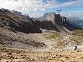Dolomites - Alta Via 2, Stage 03-11 Rifugio Puez to Rifugio Boè - panoramio (7).jpg