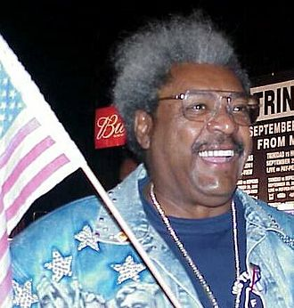 The Homer They Fall - Character Lucius Sweet is a parody of boxing promoter Don King.