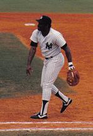 Don Baylor - Baylor with the New York Yankees