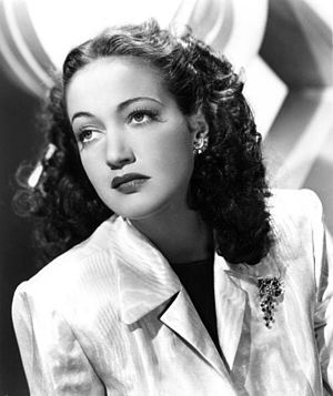 Dorothy Lamour - circa 1940