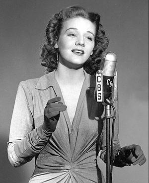 Dorothy Shay - Dorothy Shay on Cresta Blanca Carnival circa 1940s