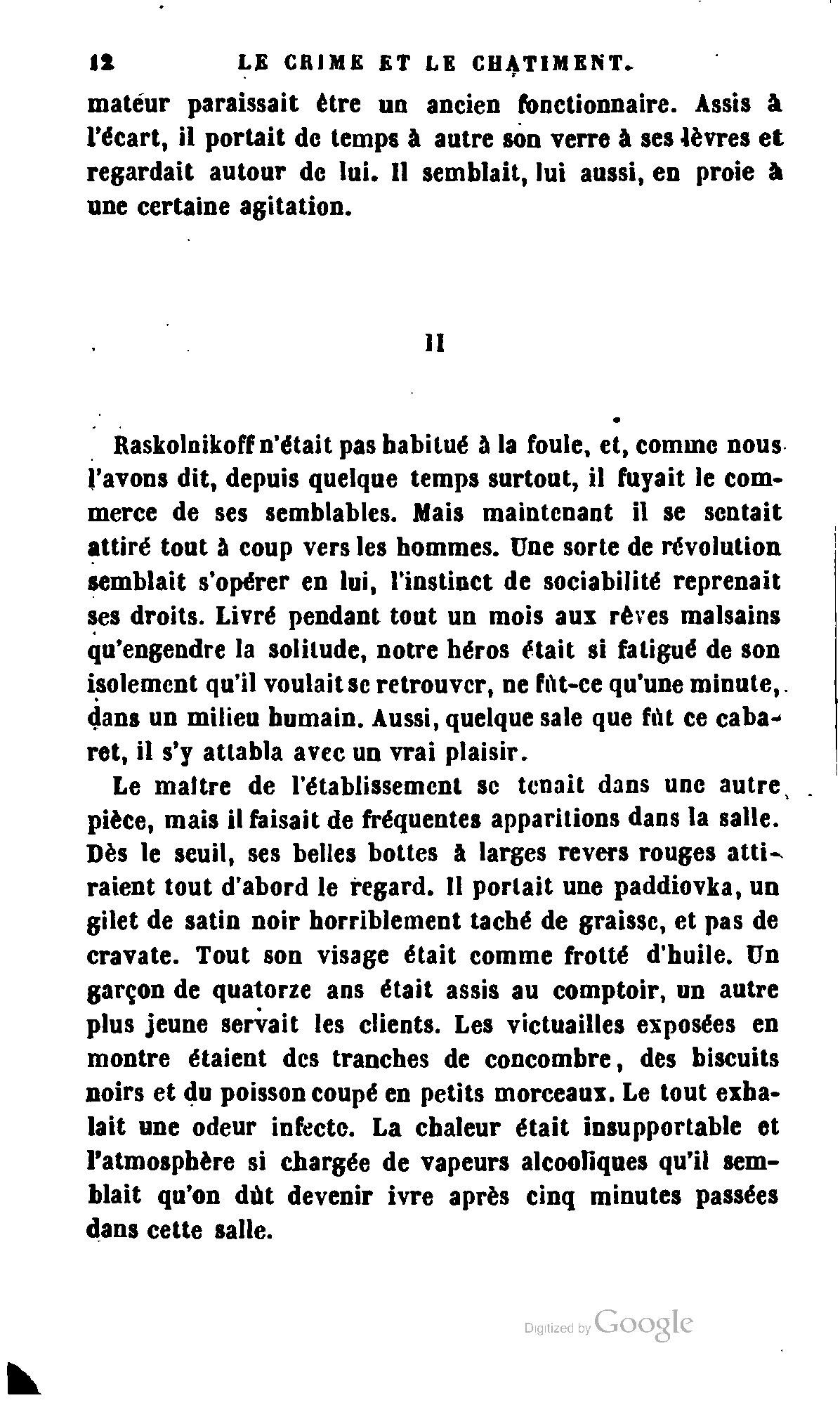 Page dosto evski crime et chatiment tome wikisource - Coup de chaleur wikipedia ...