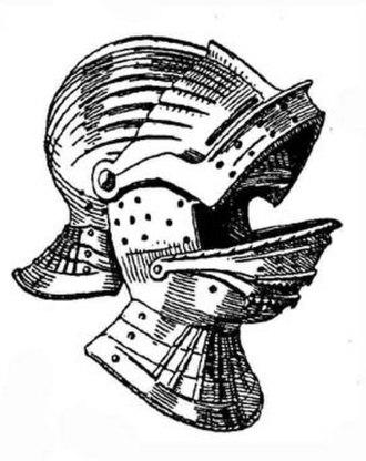 Visor (armor) - Image: Double Visored Sallet by Wendelin Boeheim