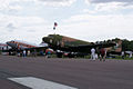 Douglas AC-47 Spooky and DC-3 N34 LSides SNF 16April2010 (14607432496).jpg