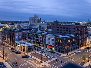 Decatur, Illinois - Image: Downtown Merchant Rsz