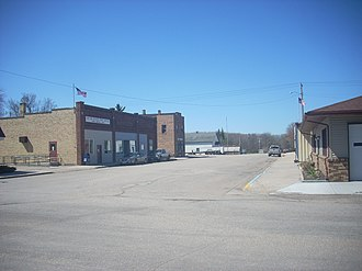 Fisher, Minnesota - Downtown Fisher