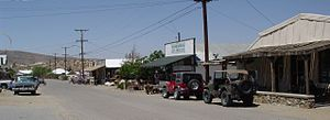 Randsburg, California - Downtown Randsburg