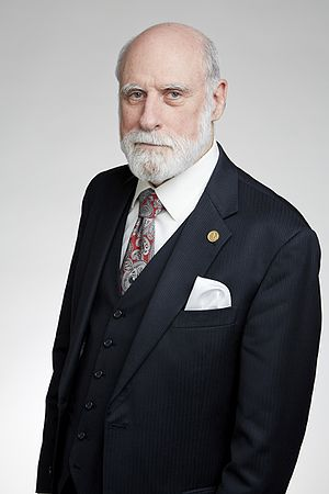 Vint Cerf - Vint Cerf at the Royal Society admissions day in 2016