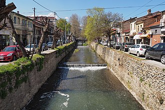 Dragor (river) - The river in the centre of Bitola.