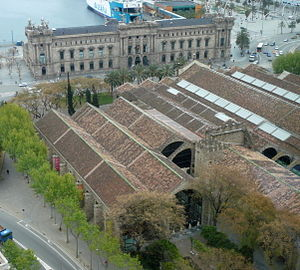Maritime Museum of Barcelona - Image: Drassanes de Barcelona