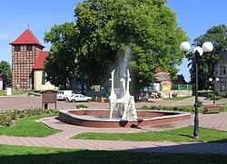 Drawno plac Wolnosci fountain 2009-08.jpg