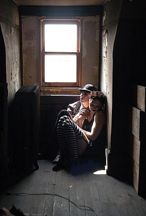The Dresden Dolls - The Dresden Dolls, 2002 Photo by Kyle Cassidy