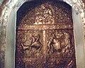 Drzwi kościoła pw. Nawiedzenia NMP zdobione scenami z historii świątyni - zabytkowy portal - panoramio.jpg