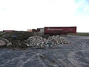 Dump on disused runway - geograph.org.uk - 745002