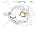 Dunnottar castle plan.png