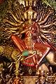Durga - Tridhara Sammilani - Manohar Pukur Road - Kolkata 2014-10-02 9053.JPG