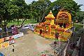 Durga Puja Pandal - Biswamilani Club - Padmapukur Water Treatment Plant Road - Howrah 2015-10-20 6078.JPG