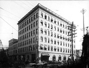 Dyal-Upchurch Building - Dyal-Upchurch building in early 1900s.