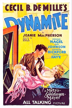 Dynamite (1929 film) - Image: Dynamite 1929 Poster