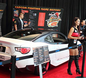Street Fighter - The 25th anniversary event at the Electronic Entertainment Expo 2012