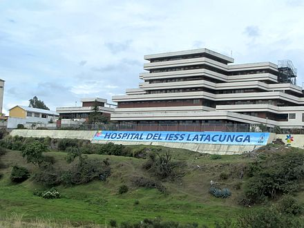 IESS Hospital in Latacunga EC Latacunga Hospital 2012.jpg