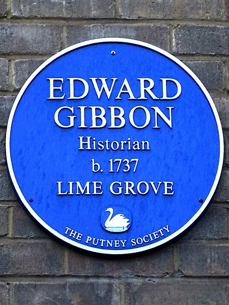 File:EDWARD GIBBON Historian b.1737 LIME GROVE.jpg
