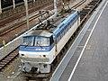 EF66 102 at Yokohama-Hazawa Station.jpg