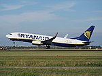 EI-DHZ Ryanair Boeing 737-8AS(WL) cn33583 takeoff from Schiphol (AMS - EHAM), The Netherlands pic2.JPG