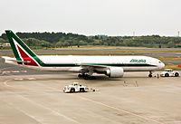 EI-ISO - B772 - Alitalia