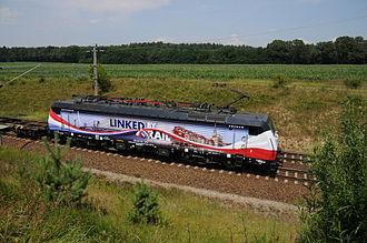 European Rail Shuttle B.V. - ERS Railways Linked by Rail locomotive