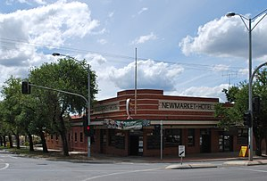 East Bendigo - Newmarket Hotel in East Bendigo, 2010
