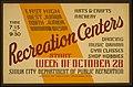 East High, West Junior, North Junior, Woodrow Wilson Recreation Centers LCCN98512462.jpg