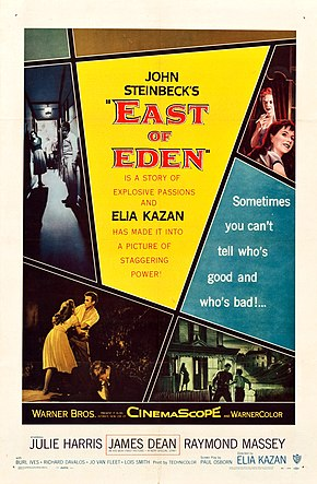 Description de l'image East of Eden (1955 film poster).jpg.