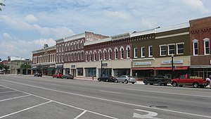 National Register of Historic Places listings in Williams County, Ohio - Image: Eastern side of Main in downtown Bryan