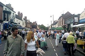 Eccleshall - Eccleshall Street Market