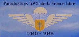 2nd Parachute Chasseur Regiment - Image: Ecusson des parachutites SAS de la France Libre