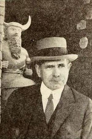 Edgar James Banks - Edgar J. Banks in 1922