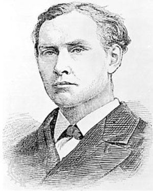 Edward Whymper - Edward Whymper, engraving, 1881