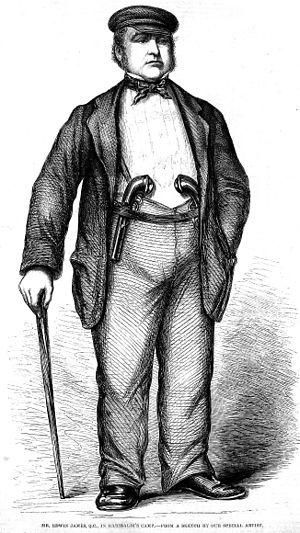Edwin James (barrister) - Image: Edwin James