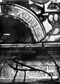 """Eglise Saint-Martin - Vitrail, baie 4 (détail), Inscription """"sancti Adrien"""" - Montmorency - Médiathèque de l'architecture et du patrimoine - APMH00005400.jpg"""